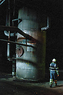 Cockenzie Power Station. Coal Fired Power Station in East Lothian run by Scottish Power...Pictured during the decommissioning of the facility..Picture by Alex Hewitt