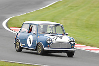 HSCC Gold Cup Oulton Park, Cheshire, United Kingdom.  28th-29th August 2011.  Race 11 HSCC ByBox Historic Touring Cars.  71 Tim Harber - Austin Mini Cooper.  World Copyright: Peter Taylor/PSP. Copy of publication required for printed pictures. Every used picture is fee-liable.