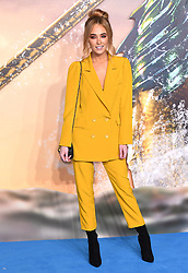 Nicola Hughes attending the Aquaman premiere held at Cineworld in Leicester Square, London on November 26, 2018. Photo credit should read: Doug Peters/EMPICS