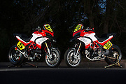 Greg Tracy and Carlin Dunne's Ducati Multistradas