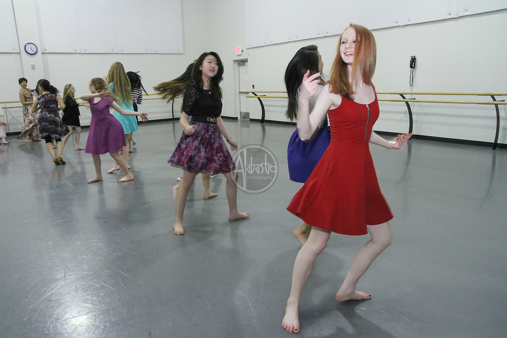 Pacific Northwest Ballet School's Winter Wonderland Ball 2014.