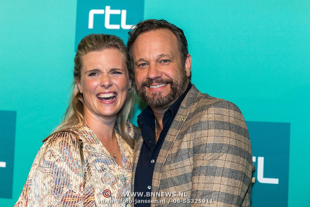 NLD/Halfweg20190829 - Seizoenspresentatie RTL 2019 / 2020, Carlo Boszhard en Eveline Stallaart