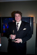 Todd Rosenthal, The Laurence Olivier Awards, The Grosvenor House Hotel. Park Lane. London. 8 March 2009 *** Local Caption *** -DO NOT ARCHIVE -Copyright Photograph by Dafydd Jones. 248 Clapham Rd. London SW9 0PZ. Tel 0207 820 0771. www.dafjones.com<br /> Todd Rosenthal, The Laurence Olivier Awards, The Grosvenor House Hotel. Park Lane. London. 8 March 2009