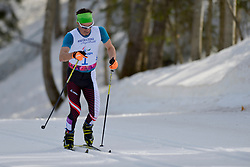 KURZ Michael competing in the Nordic Skiing XC Long Distance at the 2014 Sochi Winter Paralympic Games, Russia