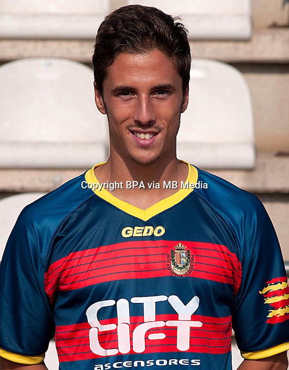 Spain - La Liga Adelante 2014-2015 / <br /> ( U.E. Llagostera ) - <br /> Eloy Gila Marin