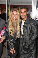 Bianca Gascoigne & Lucien Laviscount, Luisa Zissman's Mad Hatter's Tea Party, Retro Feasts, London UK, 06 November 2013, Photo by Brett Cove