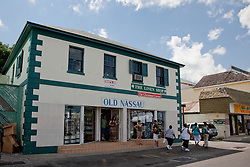 Old Nassau building in the Bahamas.