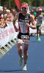 03.07.2011, Strandbad, Klagenfurt, AUT, Austria Ironman 2011, im Bild Jerzy Kasemir, NET, EXPA Pictures © 2011, PhotoCredit: EXPA/ M. Kuhnke