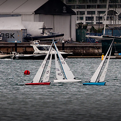 Radio Yacht regatta at Westhaven, Saturday 7 April 2018. Photo by Suellen Davies, Live Sail Die