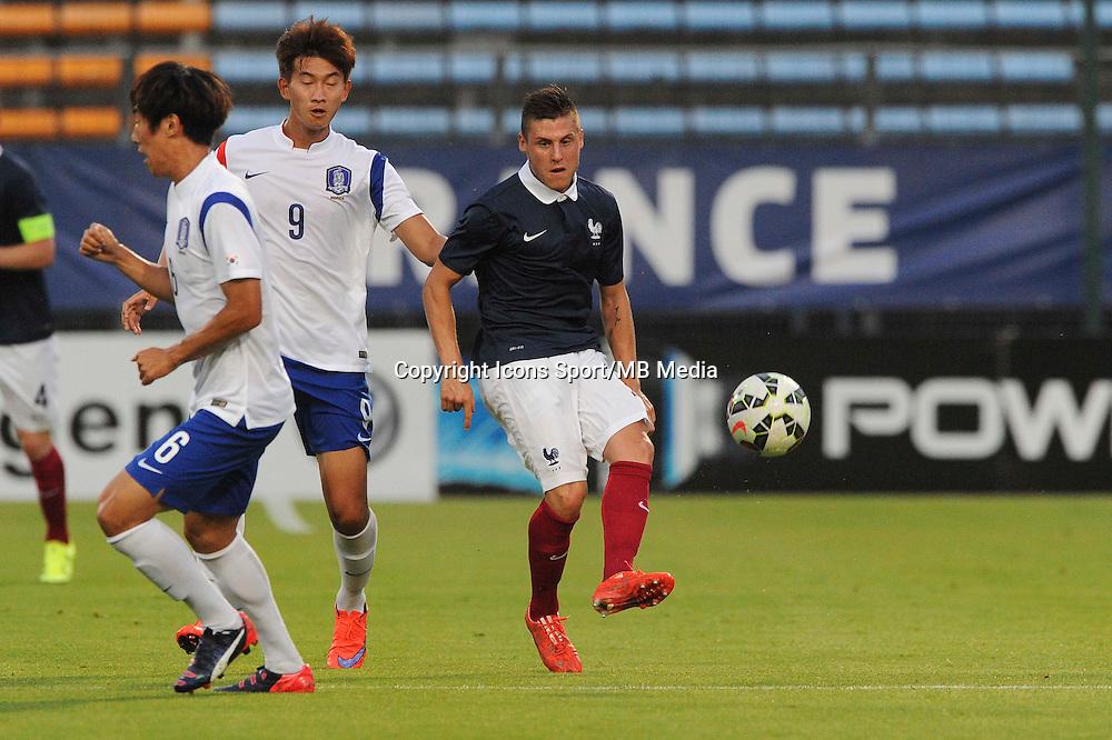 Remi WALTER - 11.06.2015 - Football espoirs - France / Coree du Sud - Match amical -Gueugnon<br /> Photo : Jean Paul Thomas / Icon Sport