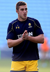 Huw Taylor of Worcester Warriors - Mandatory by-line: Robbie Stephenson/JMP - 13/11/2016 - RUGBY - Ricoh Arena - Coventry, England - Wasps v Worcester Warriors  - Anglo Welsh Cup