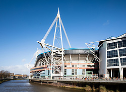 A general view of Principality Stadium, home of Wales<br /> <br /> Photographer Simon King/Replay Images<br /> <br /> Six Nations Round 1 - Wales v Italy - Saturday 1st February 2020 - Principality Stadium - Cardiff<br /> <br /> World Copyright © Replay Images . All rights reserved. info@replayimages.co.uk - http://replayimages.co.uk