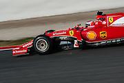 February 19-22, 2015: Formula 1 Pre-season testing Barcelona : Kimi Raikkonen (FIN), Ferrari
