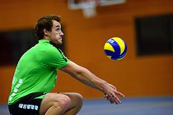 22-10-2014 NED: Selectie SSS seizoen 2014-2015, Barneveld<br /> Topvolleybal SSS Barneveld klaar voor het nieuwe seizoen 2014-2015 / Joep Tiernego