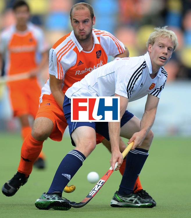Monchengladbach - Champions Trophy men<br /> England vs Netherlands<br /> foto: Roderik Huber and (...). <br /> FFU Press Agency  COPYRIGHT Frank Uijlenbroek