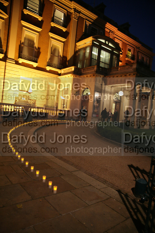 Anahita Resort launch party. Wallace Collection. London. 12 September 2007. ( Photo by Dafydd Jones)  Exterior of the Wallace Collection -DO NOT ARCHIVE-© Copyright Photograph by Dafydd Jones. 248 Clapham Rd. London SW9 0PZ. Tel 0207 820 0771. www.dafjones.com.
