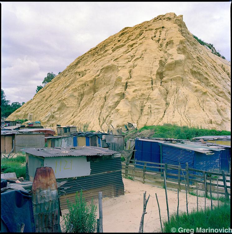 Jerusalem shanty town, East Rand, ERP Mine, South Africa, 2012. Greg Marinovich