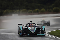October 19, 2018 - Valencia, Spain - 03 PIQUET JR Nelson (bra), Panasonic Jaguar Racing Team during the Formula E official pre-season test at Circuit Ricardo Tormo in Valencia on October 16, 17, 18 and 19, 2018. (Credit Image: © Xavier Bonilla/NurPhoto via ZUMA Press)