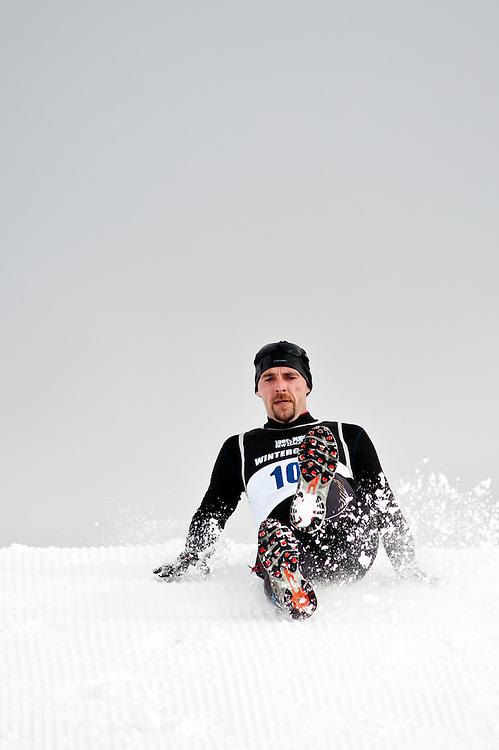 Lukas Fornes (ARG), Winter Triathlon, Winter Games, Snowfarm, Saturday August 27, 2011...Photo by Mark Tantrum | www.marktantrum.com