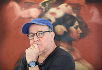 Roberto Fabelo, Exhibition of Cuban Artist in Key West, February 2014 (photo/Cristobal Herrera)