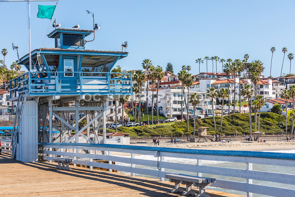 Lifeguard Tower on the San Clemente Pier