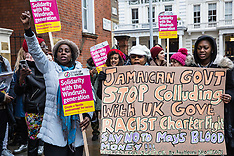 2019-02-04 Protest against Jamaican deportation flights