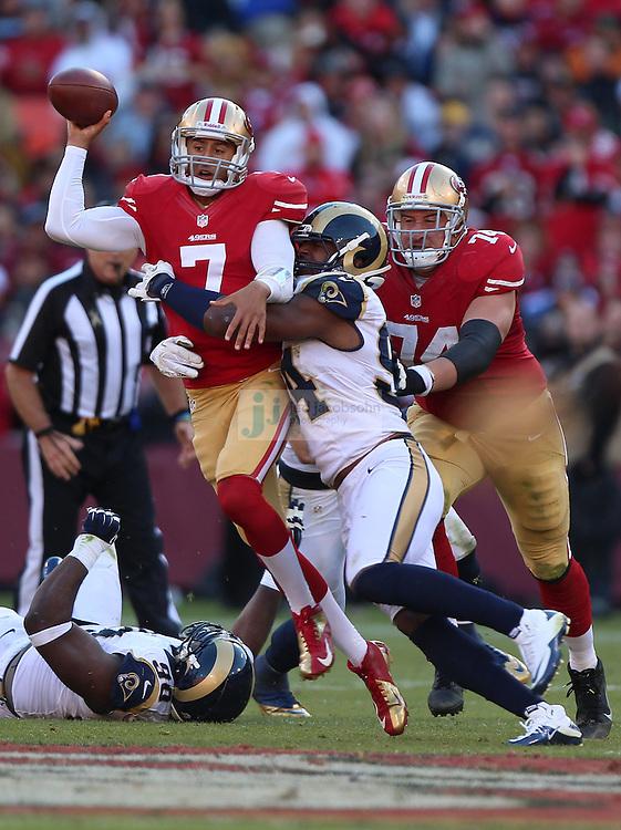 St. Louis Rams XXXXX against the San Francisco 49ers XXXXX, Sunday, Nov. 11, 2012 in San Francisco. (AP Photo/Jed Jacobsohn)