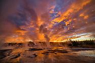 North America, American, USA, Rocky Mountains, West, Yellowstone  National Park, UNESCO, World Heritage, Black Sand Basin,