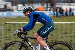 LECHNER Eva (ITA) during Women Elite race, 2020 UCI Cyclo-cross Worlds Dübendorf, Switzerland, 1 February 2020. Photo by Pim Nijland / Peloton Photos | All photos usage must carry mandatory copyright credit (Peloton Photos | Pim Nijland)