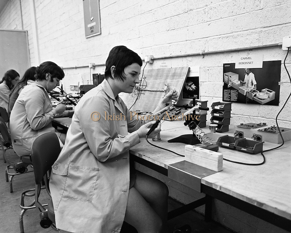 24/9/1970<br /> 9/24/1970<br /> 24 September 1970<br /> <br /> At Technician Factory view of the production line