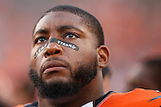 CINCINNATI, OH - AUGUST 14: Devon Still #75 of the Cincinnati Bengals looks on against the New York Giants during a preseason game at Paul Brown Stadium on August 14, 2015 in Cincinnati, Ohio. The Bengals defeated the Giants 23-10. (Photo by Joe Robbins)