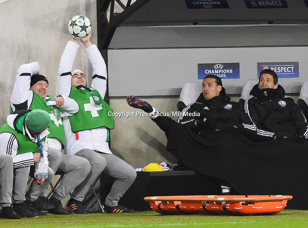 2016.11.02 Warszawa<br /> Pilka nozna Liga Mistrzow sezon 2016/2017<br /> Legia Warszawa - Real Madryt<br /> N/z Aleksandr Prijovic<br /> Foto Lukasz Laskowski / PressFocus<br /> <br /> 2016.11.02 Warsaw<br /> Football Champions League season 2016/2017<br /> Legia Warsaw - Real Madrid<br /> Aleksandr Prijovic<br /> Credit: Lukasz Laskowski / PressFocus