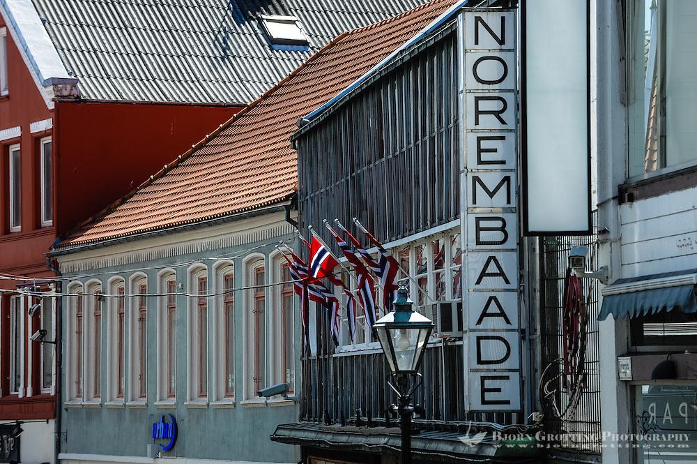 Norway, Stavanger. Detaljer fra Stavanger en fin sommerdag.