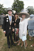 Alexander Noel, Laura Bond and Ann Hodgson-Pressinger. Royal Ascot Race Meeting. Wednesday 21 June 2006. ONE TIME USE ONLY - DO NOT ARCHIVE  © Copyright Photograph by Dafydd Jones 66 Stockwell Park Rd. London SW9 0DA Tel 020 7733 0108 www.dafjones.com