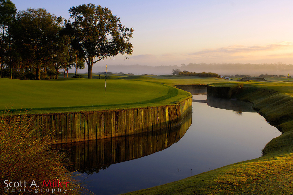 The eighth hole on the Old Course at Grand Cypress Resort on Feb 20, 2007 in Orlando, Florida......©2007 Scott A. Miller