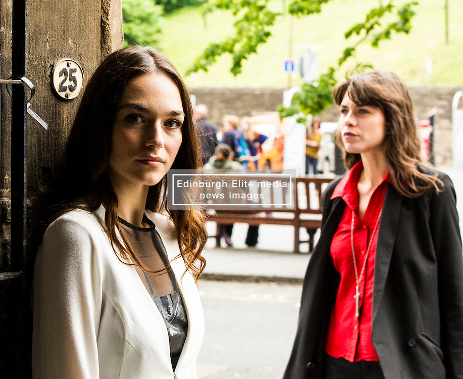 Pictured: Emanuela Postacchini who plays Tuesday and Ana Ularu who plays Saturday.<br /> <br /> Writer/Director Balazs Juszt's exciting thriller The Man Who Was Thursday has been selected for the Edinburgh Film Festival and will receive its World Premiere on 21  June in Edinburgh. The stellar international cast include; Francois Arnaud (The Borgias), Jordi Molla (Riddick), Ana Ularu (Serena) and Mark Ivanir (A Late Quartet). <br /> The Man Who Was Thursday is a metaphysical thriller chronicling Father Smith's Faustian descent into the Roman underworld. Following a disgraceful turn at his local parish Father Smith is called to Rome for spiritual rehabilitation. Upon his arrival, Charles, the man who introduced him to the faith, reveals the real reason Smith was brought to the Eternal City; to go underground and ascertain the mysterious leader of an anarchist group of renegades, whose leaders are each code-named after the days of the week. Smith accepts this mission and ultimately unearths the true leader of the group, but not before experiencing a litany of mind-bending twists and turns.<br /> <br /> Ger Harley | EEm 21  June 2016