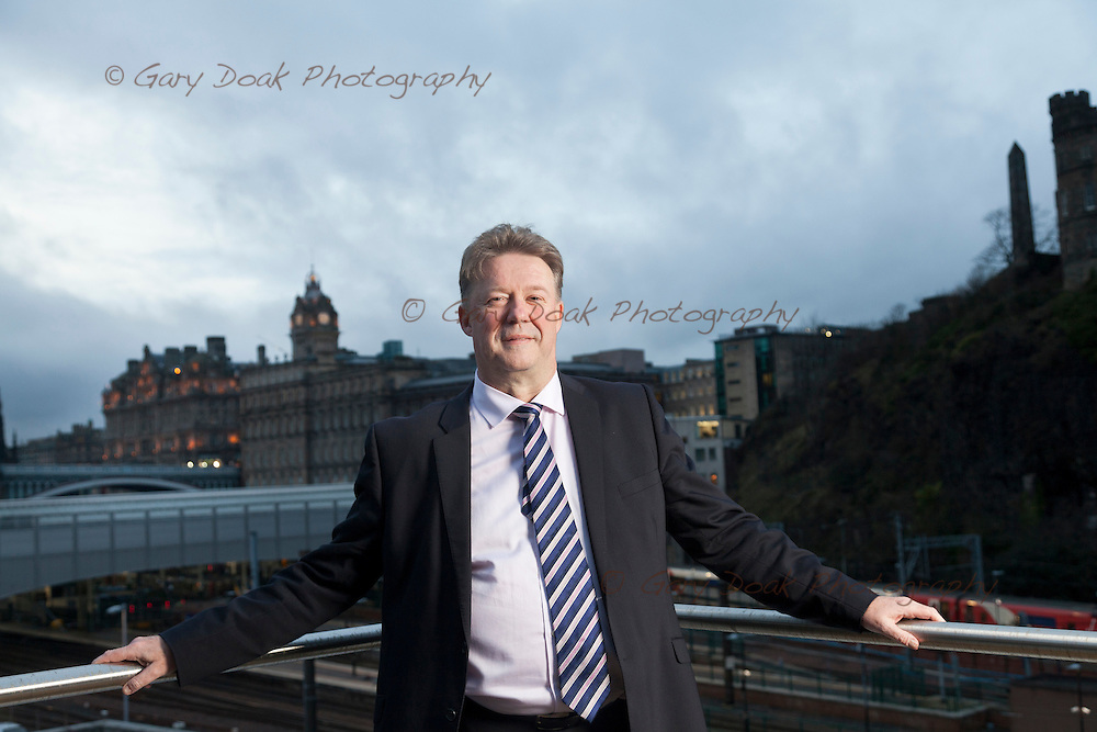 Andrew Kerr, Chief Executive, The City of Edinburgh Council.<br />
