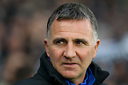 Wigan manager Warren Joyce during the EFL Sky Bet Championship match between Derby County and Wigan Athletic at the iPro Stadium, Derby, England on 31 December 2016. Photo by Aaron  Lupton.