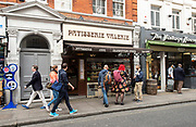 "Patisserie Valerie in Charing Cross Road, London, Great Britain <br /> 12th October 2018 <br /> Chris Marsh, finance director was arrested 11th October 2018 and then released on bail.<br /> <br /> The cafe chain is fighting for survival after revealing it had uncovered ""significant, and potentially fraudulent, accounting irregularities"".<br /> <br /> Mr Marsh had been suspended when these problems were discovered.<br /> <br /> The Serious Fraud Office said it had ""opened a criminal investigation into an individual"".<br /> <br /> The firm said it needed ""an immediate injection of capital"" to continue trading in its current form.<br /> <br /> In a brief announcement to the stock market, Patisserie Holdings - the owner of the cafe chain - said: ""The company has been made aware that Chris Marsh, who is currently suspended from his role as company finance director, was arrested by the police last night and has been released on bail. Further updates will be released in due course as appropriate"".<br /> <br /> Photograph by Elliott Franks"