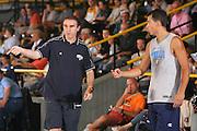 DESCRIZIONE : Bormio Ritiro Nazionale Italiana Maschile Preparazione Eurobasket 2007 Allenamento <br /> GIOCATORE : Carlo Recalcati Massimo Bulleri<br /> SQUADRA : Nazionale Italia Uomini EVENTO : Bormio Ritiro Nazionale Italiana Uomini Preparazione Eurobasket 2007 GARA :<br /> DATA : 24/07/2007 <br /> CATEGORIA : Allenamento <br /> SPORT : Pallacanestro <br /> AUTORE : Agenzia Ciamillo-Castoria/S.Silvestri <br /> Galleria : Fip Nazionali 2007 <br /> Fotonotizia : Bormio Ritiro Nazionale Italiana Maschile Preparazione Eurobasket 2007 Allenamento <br /> Predefinita :