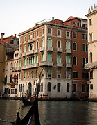 View on the Grand canal in Venice, Italy.