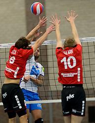 13-12-2014 NED: Prins VCV - Abiant Lycurgus, Veenendaal<br /> Lycurgus wint met 3-1 van VCV / Gino Naarden