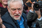 Jeremy Corbyn - A march against cuts to and potential privatisation of the NHS starts in Tavistock Square and heads for Parliament Square. The march was organised by the peoples assembly and supported by most major unions and the Labour Party.