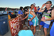 BELLVILLE, SOUTH AFRICA - Wednesday 3 December 2014, Board during the Metropolitan 10km road race outside the Parc Du Cap head office in Bellville.<br /> Photo by IMAGE SA / Roger Sedres