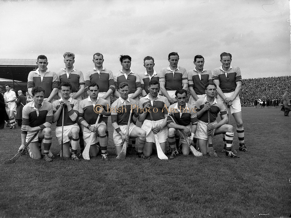 06/05/1956<br /> 05/06/1956<br /> 6 May 1956<br /> National Hurling League Final: Wexford v Tipperary. Tipperary Team.