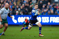 Will Chudley of Bath Rugby goes on the attack - Mandatory byline: Patrick Khachfe/JMP - 07966 386802 - 09/11/2019 - RUGBY UNION - The Recreation Ground - Bath, England - Bath Rugby v Northampton Saints - Gallagher Premiership