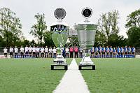 hockey, seizoen 2010-2011, 10-06-2011, amstelveen, Finale Nationale Shell Schoolhockeycompetitie 2011, Jongens Jong Stedelijk Gymnasium Leiden - Marnix College Ede 0-4, de bekers