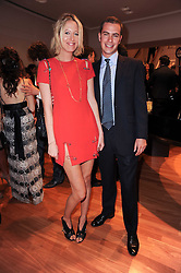 ROBERT SHEFFIELD and the HON.SOPHIA HESKETH at a party to celebrate the B.zero 1 design by Anish Kapoor held at Bulgari, 168 New Bond Street, London n 2nd June 2010.