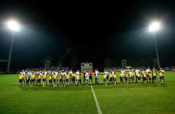 during football match between FC Luka Koper and NK Olimpija of PrvaLiga, first game after rebuilding the Bonifika football stadium, on October 30, 2010 in Koper - Capodistria, Slovenia. (Photo By Vid Ponikvar / Sportida.com)