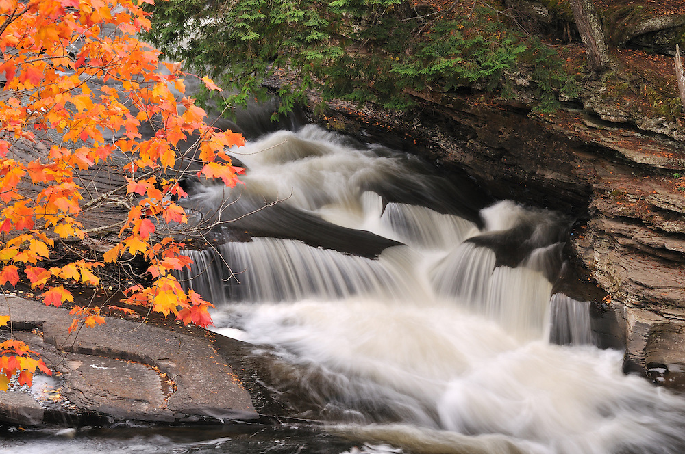 Presque Isle River, Porcupine Mountains State Park<br />
